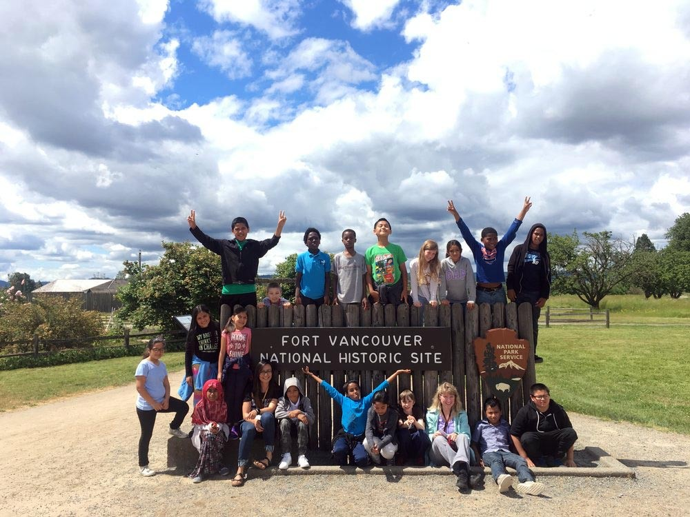 field-trip-at-Fort-Vancouver-Historical-Site