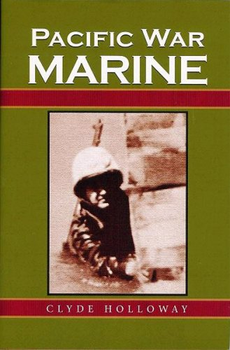 Pacific War Marine by Clyde Holloway | book cover