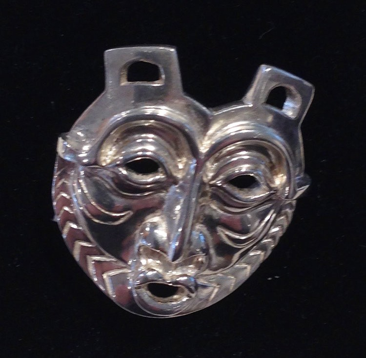 Silver pendant named